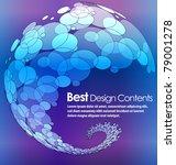 abstract modern banner theme... | Shutterstock .eps vector #79001278