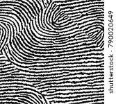 embossed pattern of stripes ... | Shutterstock .eps vector #790020649
