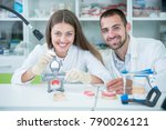 future dentists  mentors and... | Shutterstock . vector #790026121