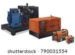 illustration of different type... | Shutterstock .eps vector #790031554
