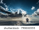 san andres island  colombia _... | Shutterstock . vector #790033555