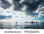 san andres island  colombia _... | Shutterstock . vector #790036891