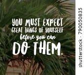 inspirational and motivational... | Shutterstock . vector #790050835