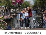 amsterdam  the netherlands  ... | Shutterstock . vector #790055641