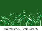 twigs background. beautiful... | Shutterstock .eps vector #790062175