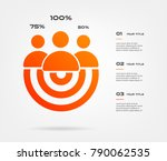 personal growth target... | Shutterstock .eps vector #790062535