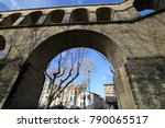 panoramic view of the old long... | Shutterstock . vector #790065517