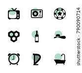 classic icons. vector...
