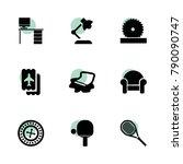 table icons. vector collection...