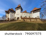 viscri fortified church in...   Shutterstock . vector #790097575