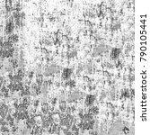 grunge black white. monochrome... | Shutterstock . vector #790105441