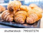macro closeup display of plain... | Shutterstock . vector #790107274
