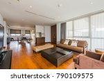 modern living room interior | Shutterstock . vector #790109575