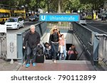 berlin  germany   august 27 ... | Shutterstock . vector #790112899