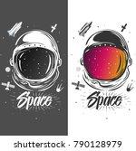 Astronaut Suit Art. Space...