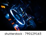 dj mixing equipment  | Shutterstock . vector #790129165