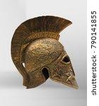 Small photo of Greek Athenian helmet