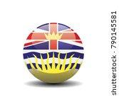 british columbia national... | Shutterstock .eps vector #790145581