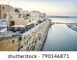 beautiful otranto by adriatic... | Shutterstock . vector #790146871