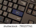 payment services directive 2 ... | Shutterstock . vector #790157761