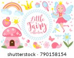 Little Fairy Set  Cartoon Styl...