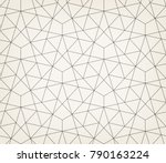 abstract geometric pattern with ... | Shutterstock .eps vector #790163224