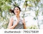 beautiful young healthy asian... | Shutterstock . vector #790175839