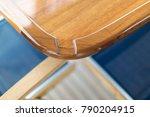 vacation on motor yacht ... | Shutterstock . vector #790204915