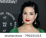 Dita Von Teese At The Art Of...