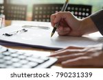 business and finance concept of ... | Shutterstock . vector #790231339