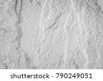 white and grey slate background ... | Shutterstock . vector #790249051