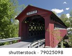 Chiselville Covered Bridge In...