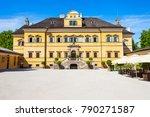 hellbrunn palace or schloss... | Shutterstock . vector #790271587