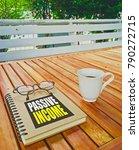 passive income ideas | Shutterstock . vector #790272715