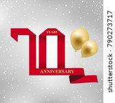 anniversary  aniversary ... | Shutterstock .eps vector #790273717