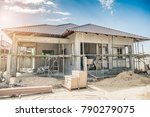 construction residential new... | Shutterstock . vector #790279075