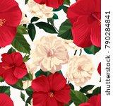 vector illustration of floral... | Shutterstock .eps vector #790284841
