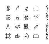 science icon set. collection of ... | Shutterstock .eps vector #790286629