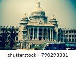 vidhana soudha closeup bengaluru   Shutterstock . vector #790293331