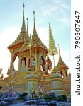 thai royal crematorium replica  | Shutterstock . vector #790307647