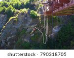 bungy from the kawarau bridge ... | Shutterstock . vector #790318705