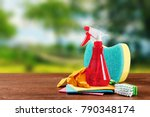 image with various tools for... | Shutterstock . vector #790348174