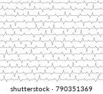 cardiogram heart pulse | Shutterstock .eps vector #790351369