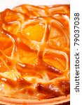 baked apricot pie | Shutterstock . vector #79037038