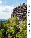national park bohemian... | Shutterstock . vector #790394767
