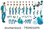 constructor of the character of ... | Shutterstock .eps vector #790401694