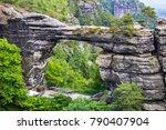 national park bohemian... | Shutterstock . vector #790407904