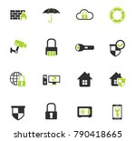 security color vector icons for ... | Shutterstock .eps vector #790418665