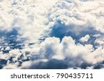 close up cloud and sky scene... | Shutterstock . vector #790435711
