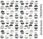 modern vector abstract seamless ... | Shutterstock .eps vector #790439941